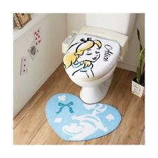 Buy Alice In Wonderland Disney Toilet Lid Cover Mat Set From Japan