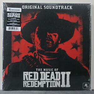 039-RED-DEAD-REDEMPTION-II-039-Soundtrack-Ltd-Edition-RED-Vinyl-2LP-NEW-SEALED