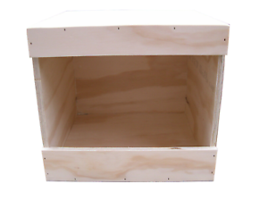 """Chicken nest boxes - single size 13"""" x 12"""" x 13"""" Coop Nest box Chickens / Hens"""