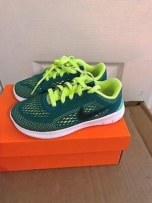 GS New BoyYouth Nike FREE RN 833989 300 Shoes Size 3.5Y--6Y.