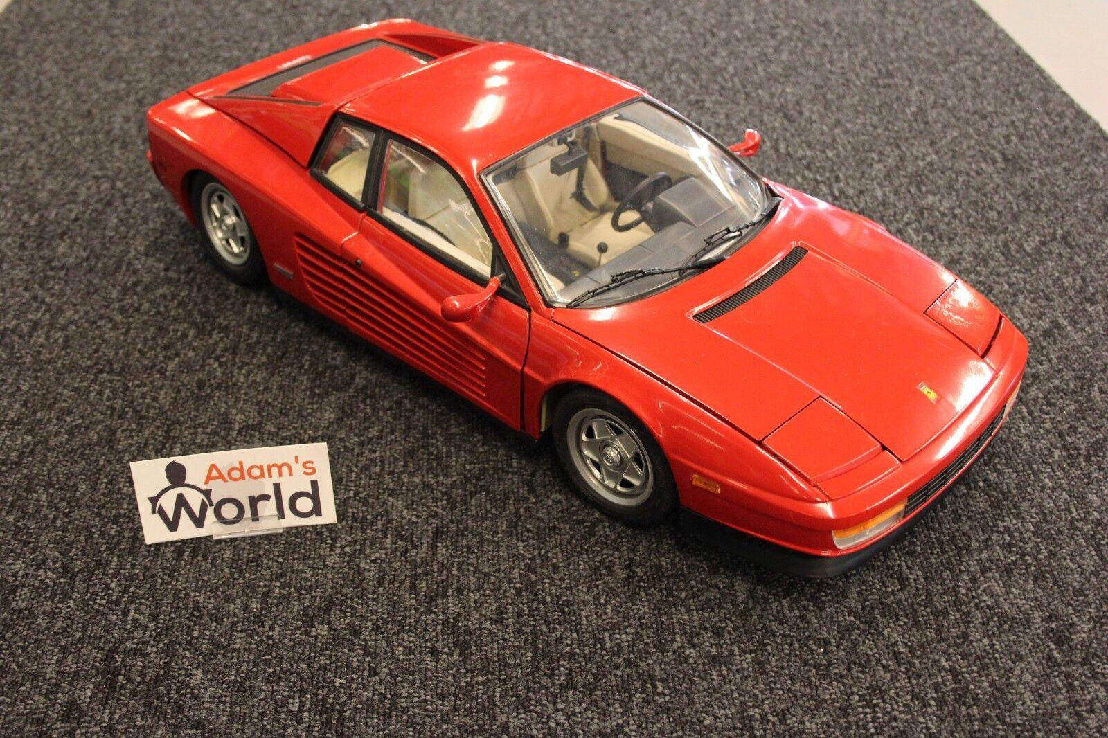 Pocher built kit Ferrari Testarossa 1 8 rosso ()