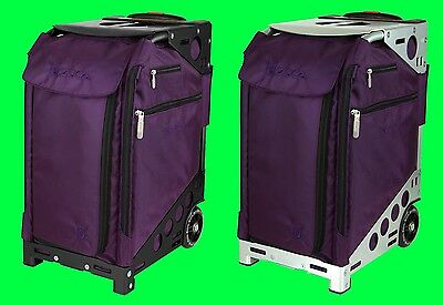 Zuca Royal Purple PRO TRAVEL - ARTIST (Pouches Set & Travel Cover) + FREE GIFT
