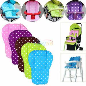 Baby-Childs-Pram-Stroller-Baby-buggy-Pushchair-Seat-Liner-Pad-Cushion-Mat-WY