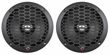 "2 Rockford Fosgate PPS4-6 6.5"" 4-Ohm Punch Car Audio MidRange MidBass Speakers"