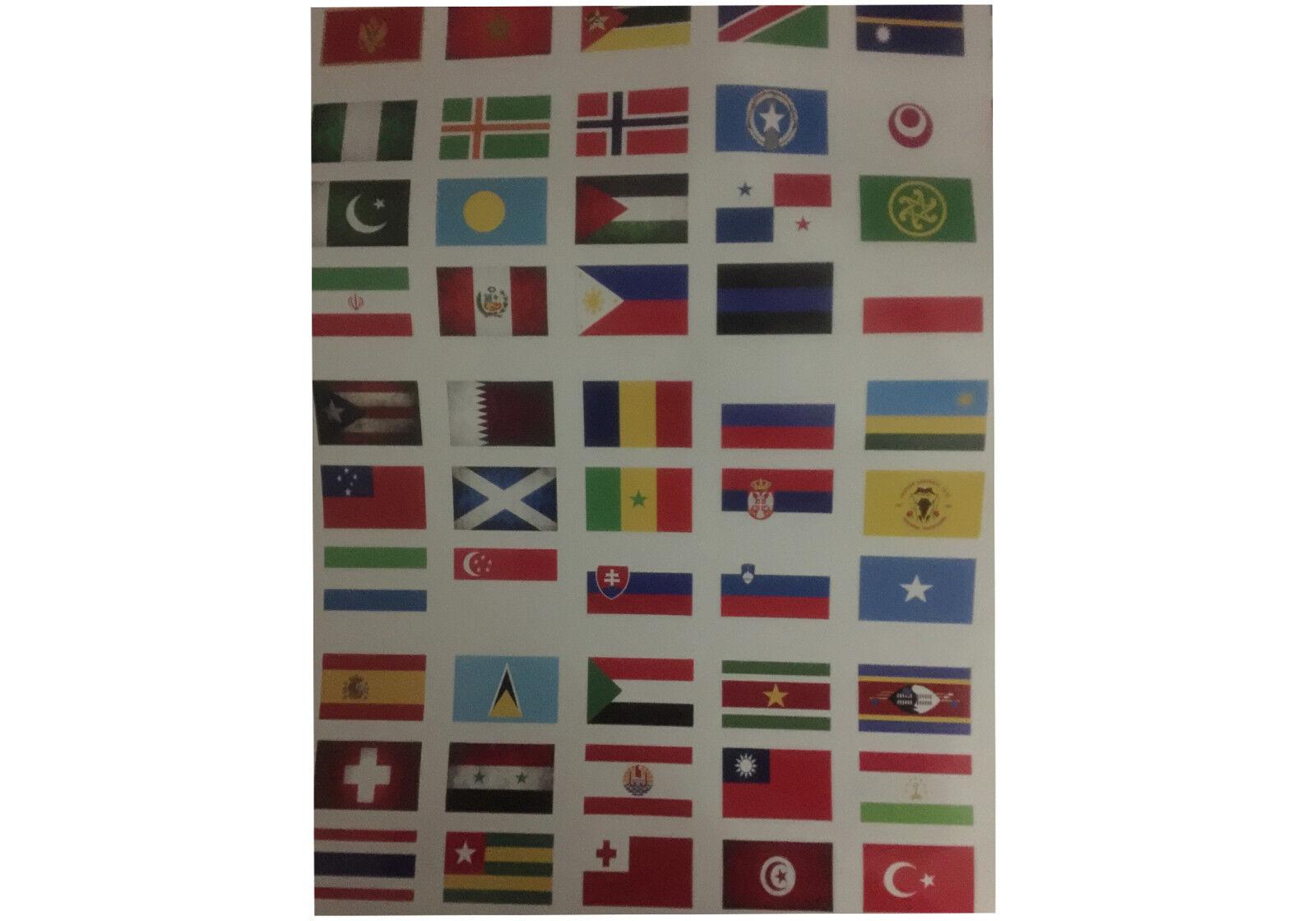 PALAU FLAG Decal Vinyl Sticker chrome or white vinyl decal and 15 sizes!