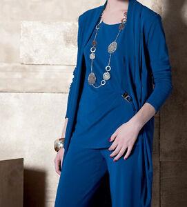 Caricamento dell immagine in corso EDAS-Spolverino-lungo-donna-elegante-JUST -giacca-blazer- ecdc84ea209