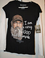 Duck Dynasty Womens Long Sleeve T Shirt Size L 3xl Very Good Bad Example