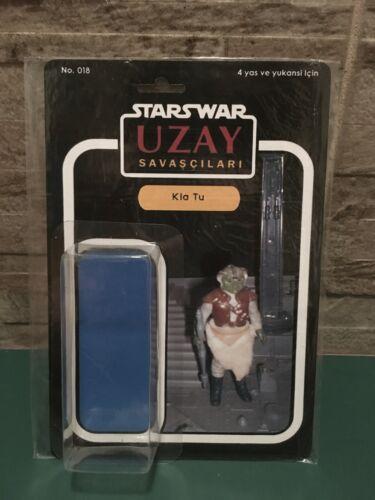 Star Wars Vintage UZAY repro custom cards and bubbles