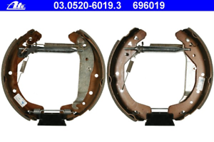 Bremsbackensatz Original ATE TopKit ATE 03.0520-6019.3