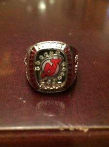 Molson Canadian stanley cup New Jersey Devils 2003 Championship Ring ... d94a7c5e8