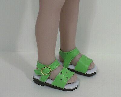 "Debs PURPLE T-Strap Doll Shoes For Dianna Effner 13/"" Little Darling"