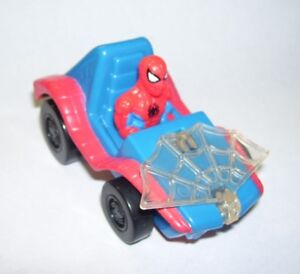 Marvel-Comics-Spiderman-Car-with-Web-1995-McDonald-039-s-Premium-Toy