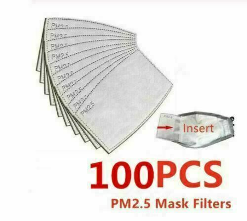 PM2.5 Activated Carbon Filter Replaceable Anti Haze Filter Air Paper 20//50//100