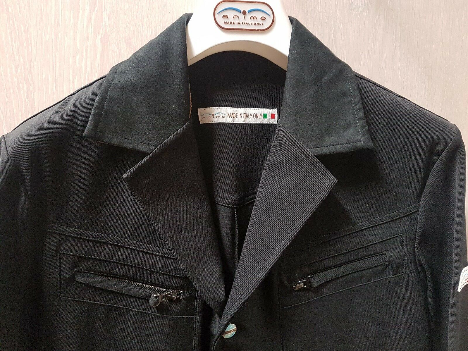 Animo turnierjacket 46 Istria chaqueta chaqueta showjacket negro negro negro caballeros