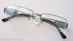 Beauty & Gesundheit M WohltäTig Teilrandlose Brillenfassung Eckige Damenbrille Yabi Spirit Breiter Bügel Gr Augenoptik