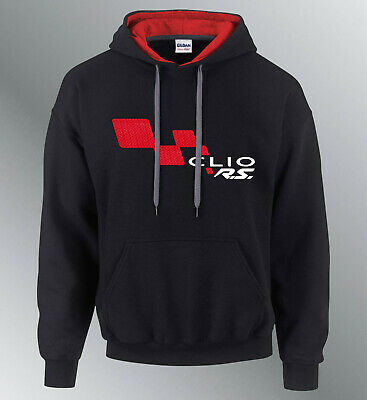Sweat shirt hoodie individuated clio rs m l xl auto hood sweatshirt sweater