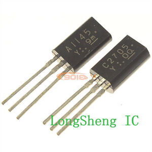 5pcs-2SA1145Y-A1145-5pcs-2SC2705Y-C2705-DIP-Transistor-TO-92L-G-new