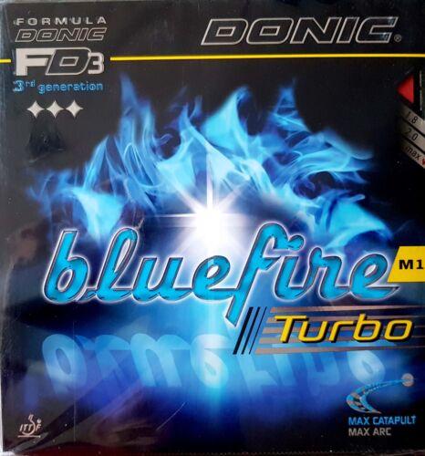 -/> Donic TT-Belag Bluefire M1 Turbo neu /& ovp Nice Price