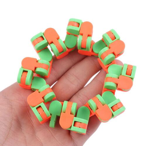 Wacky Track Snap and Click Toys Kids Autism Snake Puzzles Classic Sensory ToU hv