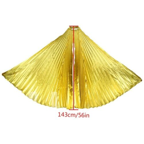 Gold Wear Wing Shiny Belly Costume Wings Fancy Isis Egyptian Egypt Dances