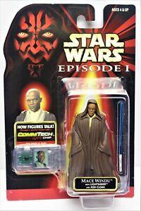 Star Wars 1998 Episode 1 - MACE WINDU JEDI MASTER / SENIOR JEDI COUNCIL -  VGC