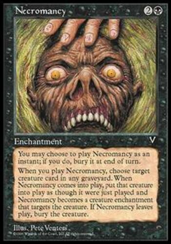 necromancy MTG Visions *MRM* FRENCH Nécromancie