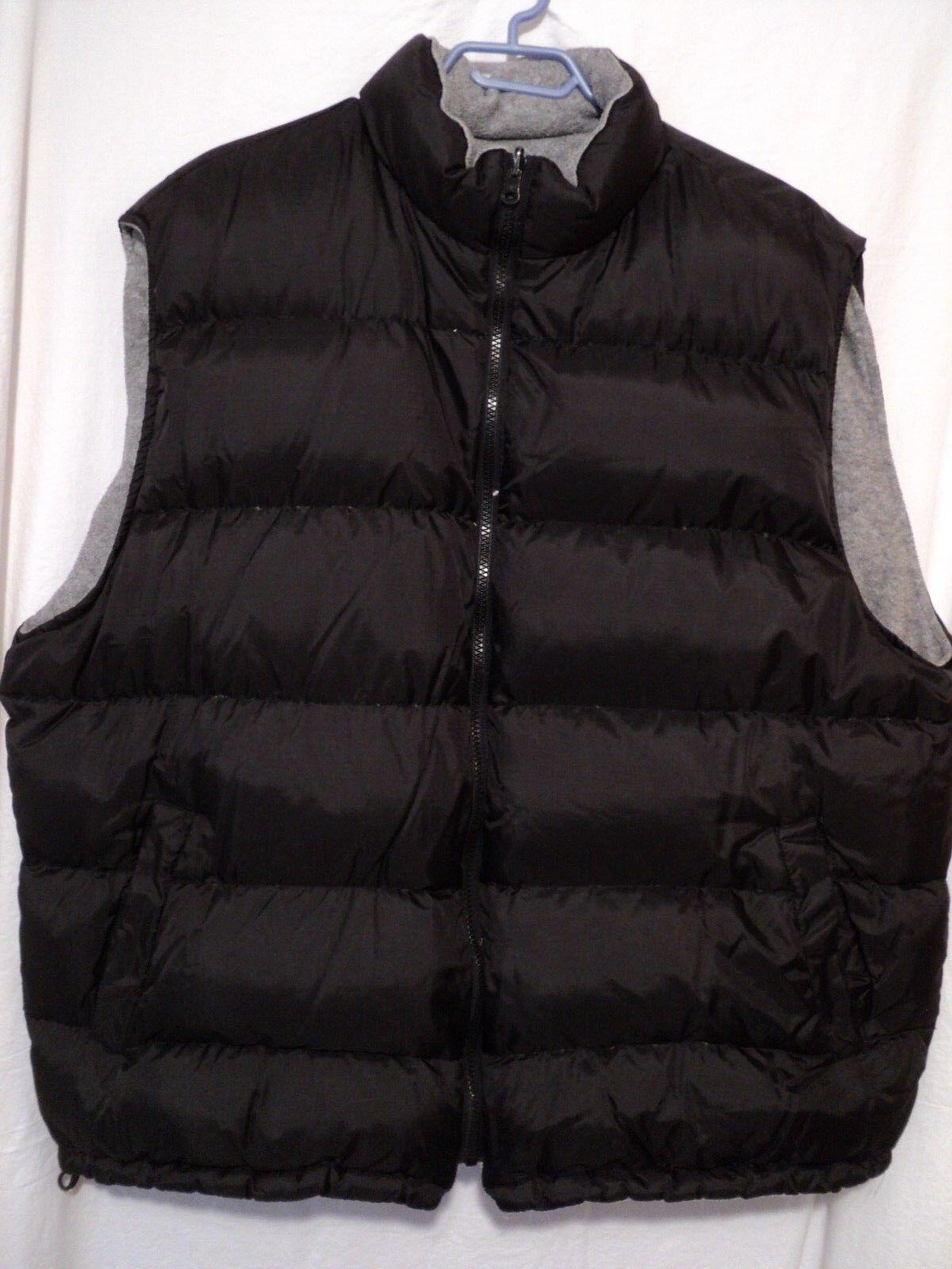 ProSpirit Down vest, Mens XL, Reversible, warm