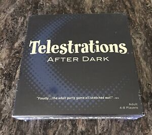 Telestrations After Dark Adult Board Game USAopoly - Brand New