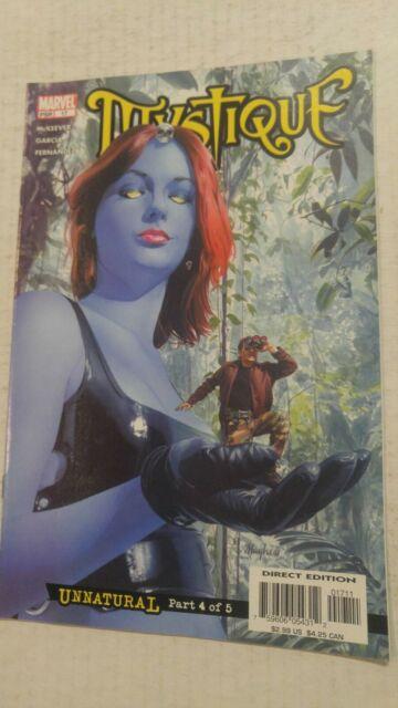Mystique #17 September 2004 Marvel Comics Vaughan Ryan Milla
