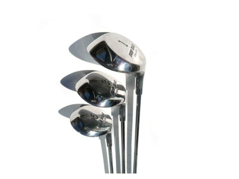 Herre golfsæt, stål, Delta Golf