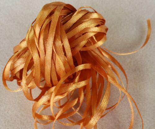 Golden Topaz Craft Ribbon 10 metres NARROW RIBBON