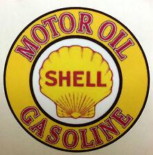 RAT ROD HOT ROD STICKER   SHELL MOTOR OIL