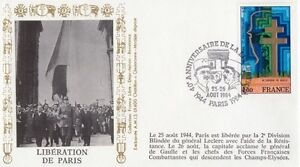 FRANCE-1984-40th-ANNIVERSARY-OF-LIBERATION-PARIS-special-cancel