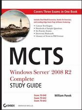 MCTS: Windows Server 2008 R2 Complete Study Guide (Exams 70-640, 70-642 and