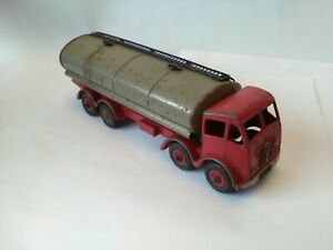 Dinky Foden Tanker 2nd Type Playworn Original No 501 From 1952 Red With Grey...