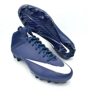 4 TD Mid Football Cleats Navy Blue