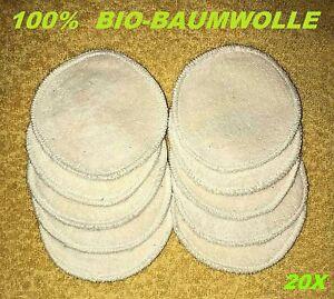 20-Abschminkpads-Baumwolle-Gesicht-Make-up-Entferner-Waschbar-Augenpads-Pads