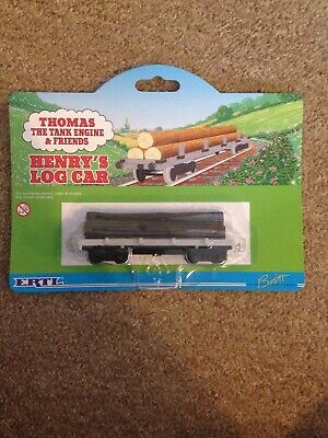 "ERTL Thomas the Tank Engine /& Friends /""Henrys Log voiture/"" NEW sur carte"