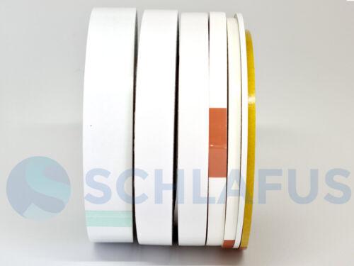 25mm Breite50m Klebeband doppelseitig  stark haftend transparent 3mm