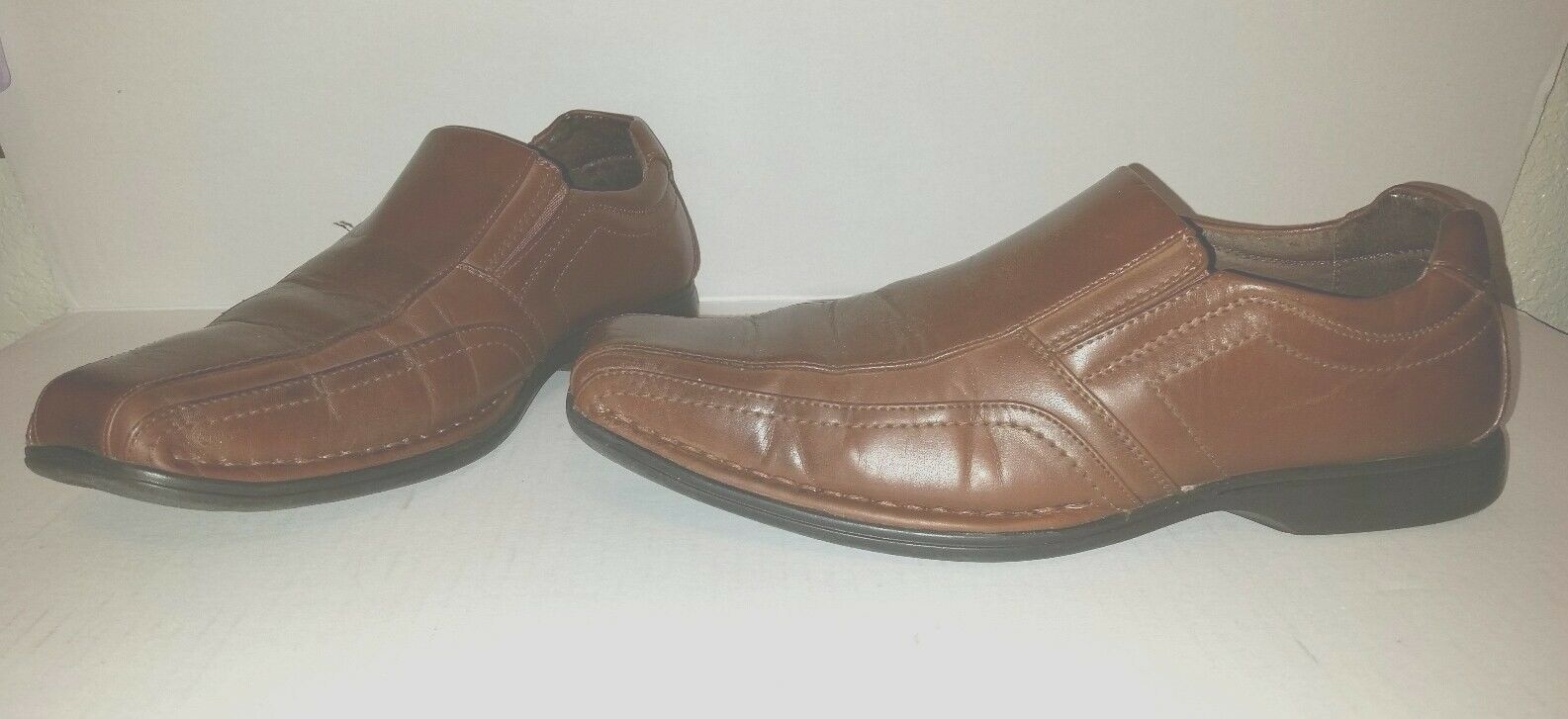 Nice Brown MADDEN M-Nelson Size 10M Slip-on Dress shoes Loafer