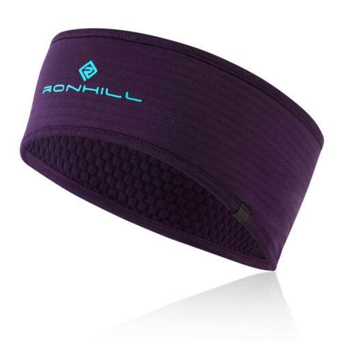 RonHill Unisex Matrix Headband Purple Sports Running Warm Breathable