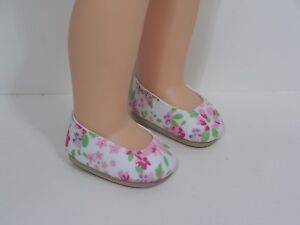 """Debs SILVER Bow-Tie Doll Shoes For 14/"""" American Girl Wellie Wisher Wishers"""