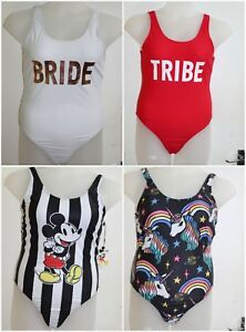 4241859d1e7af Image is loading Swimsuit-Swimwear-Costume-Mickey-Mouse-Ladies-Bride-Tribe-