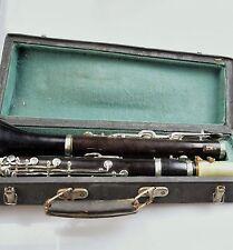 CLARINET im Koffer Nr.5884 KLARINETTE KLARNET Musikinstrument 1969