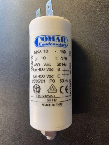 10µf condensador 10uf capacitor arranque motor condensador MKA 450-10 comar-Elko