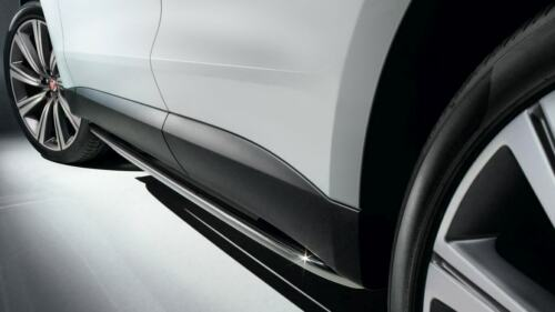 New Genuine Jaguar F-ritmo Bright Side tubos lateral barras T4A13311//T4A11579