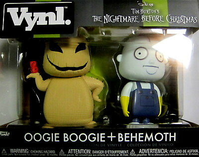 The Nightmare Before Christmas Oogie Boogie & Behemoth Funko Vynl Tim Burton Produkte HeißEr Verkauf
