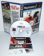 FIFA FOOTBALL 2008 08 8 - Playstation 2 Ps2 Play Station Gioco Game Sony