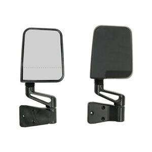 For-Jeep-Wrangler-Yj-Tj-87-02-Black-Dual-Focal-Mirror-Pair-X-11017-01