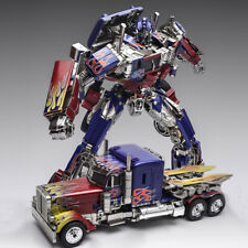 Transformers WJ SS05 Optimus Prime Commander Autobot Metal Oversized Figure 12""